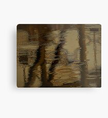 Camouflage by Water Metal Print