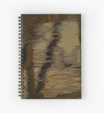 Camouflage by Water Spiral Notebook