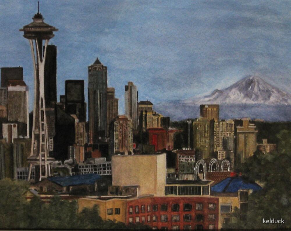 Seattle Skyline by kelduck