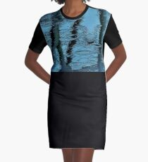 Camouflage by Blue Water Graphic T-Shirt Dress