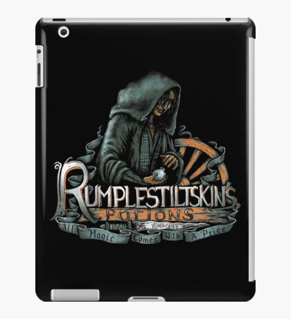 Rumplestiltskin iPad Case/Skin