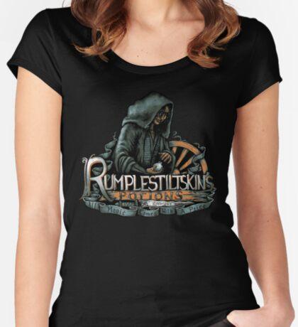 Rumplestiltskin Women's Fitted Scoop T-Shirt