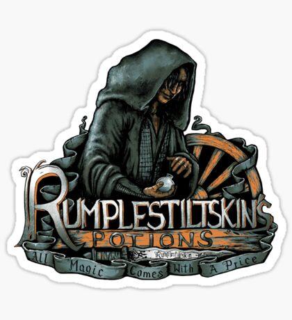 Rumplestiltskin Sticker
