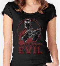 Dr. Horrible's Evil School of Evil Women's Fitted Scoop T-Shirt