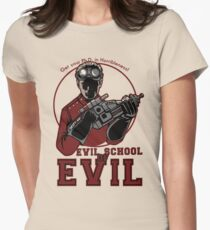 Dr. Horrible's Evil School of Evil Women's Fitted T-Shirt