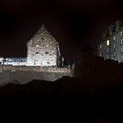Edinburgh Castle at Night by Chris Clark