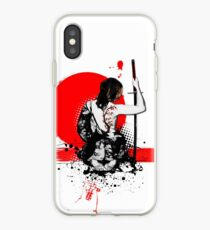 Vinilo o funda para iPhone Trash Polka - Mujer Samurai