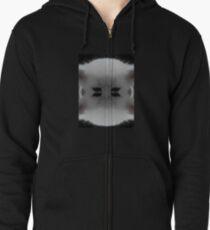 cat Zipped Hoodie