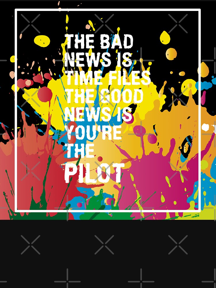 Typography Funny Life Quote The Bad News Is Design by LisaLiza