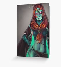 Twili Midna Greeting Card