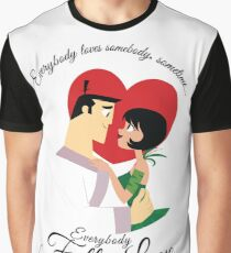 Everybody Loves Somebody UPDATED (Black Text) Graphic T-Shirt