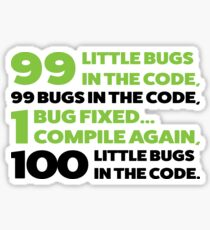 Bugs in the code Sticker