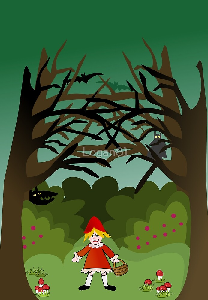 Little Red Riding Hoood by Logan81