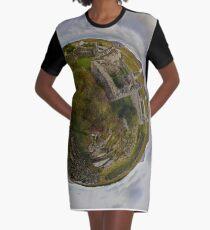 Ruins at Cashelnagor, County Donegal, Ireland Graphic T-Shirt Dress