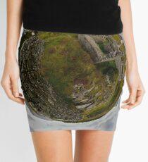 Ruins at Cashelnagor, County Donegal, Ireland Mini Skirt