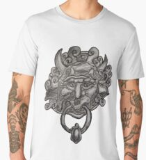 Labyrinth door knocker ink illustration Men's Premium T-Shirt