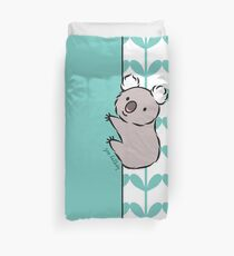 Clinging Koala  Duvet Cover