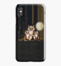 Fox Family iPhone Case/Skin