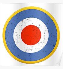 WW2 RAF ROUNDEL Poster
