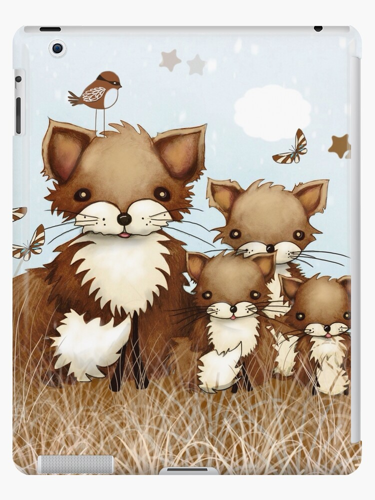 Little Foxes by Karin Taylor