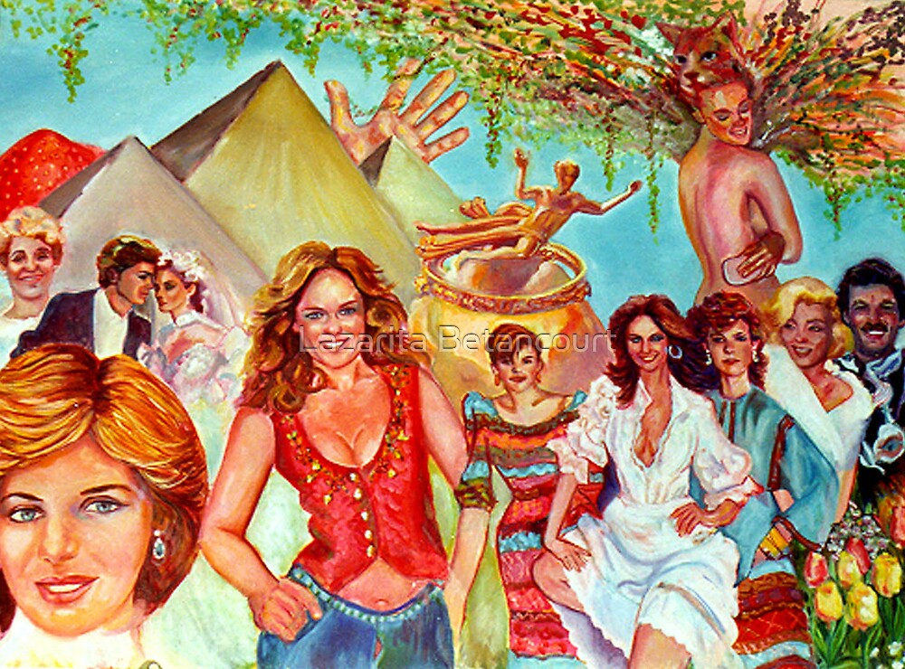 Diana and Company by Lazarita Betancourt
