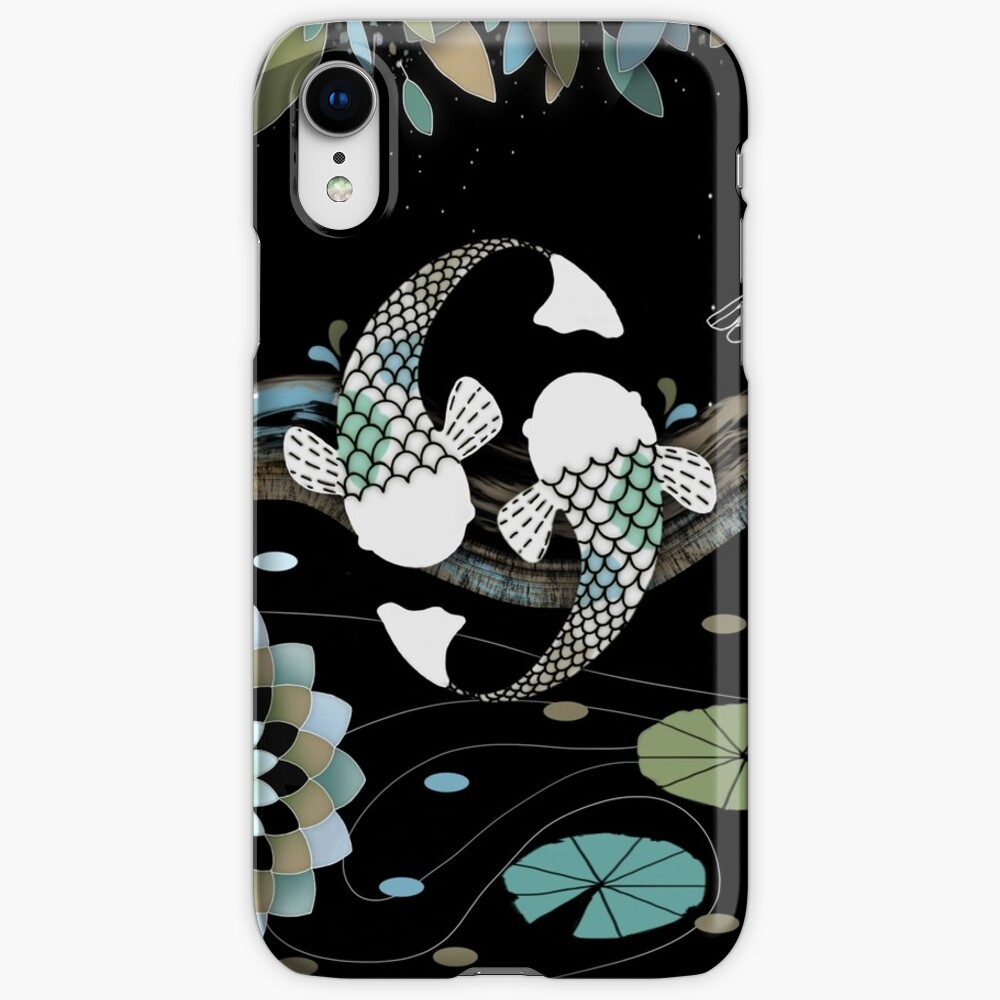 Lucky Koi Mandala iPhone Cases & Covers