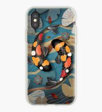 Koi Watergarden iPhone Case