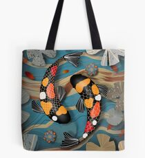 Koi Watergarden Tote Bag