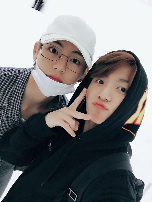 Los miembros de bts, V y jungkook, confirman relación de amorosa.