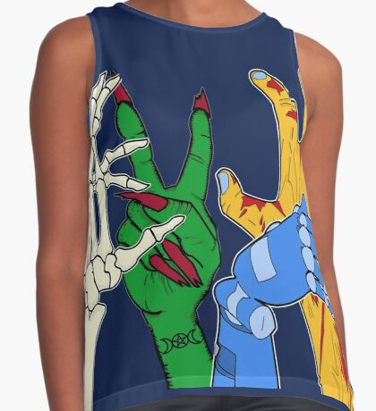 Monster mash party Sleeveless Top