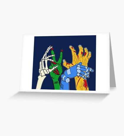 Monster mash party Greeting Card
