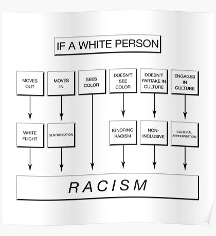 If You're White, Chances Are You're Racist... Poster