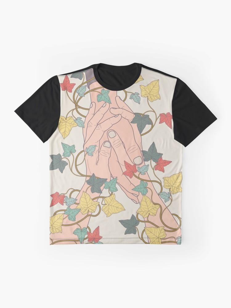 Vista alternativa de Camiseta gráfica Presta atención