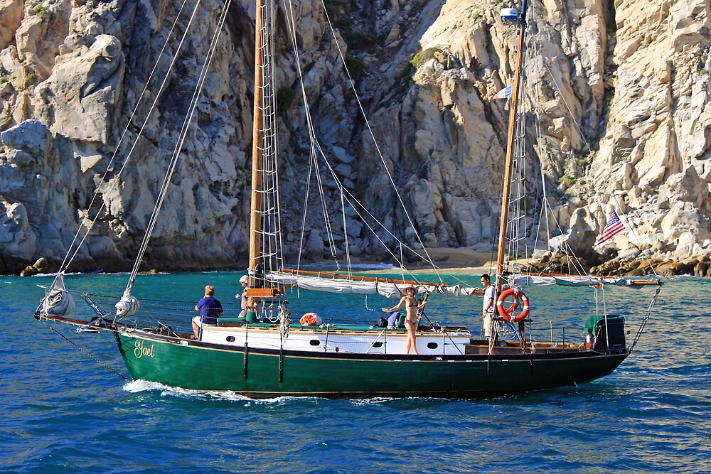 Cabo Sailboat by Tim craftmyphoto Farrell