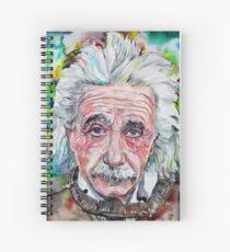 Cuaderno de espiral ALBERT EINSTEIN - retrato de acuarela.13