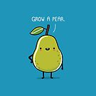 Grow a pear by Andres Colmenares