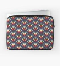 rainbowaves (dark) Laptop Sleeve