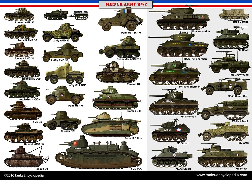 French Tanks of ww2 by TheCollectioner