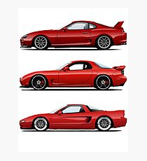 3x JDM legend Photographic Print