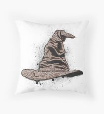 The Sorting Dictionary Hat Throw Pillow