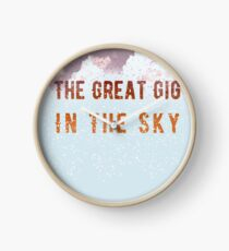 The Great Gig in the Sky Clock