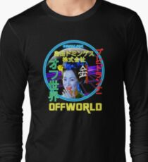 Blade Runner - Blimp Neon Spectacular Long Sleeve T-Shirt