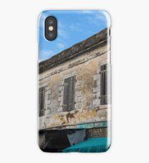 Historische fassade in port louis mauritius iPhone Case/Skin