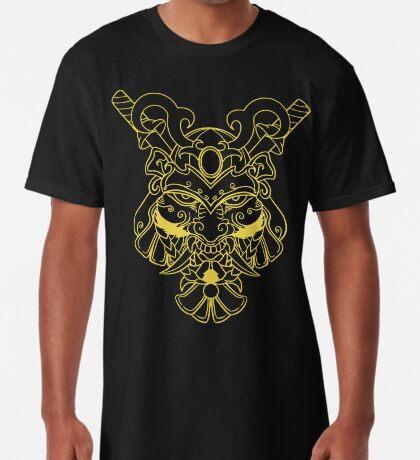 Golden Samurai Long T-Shirt