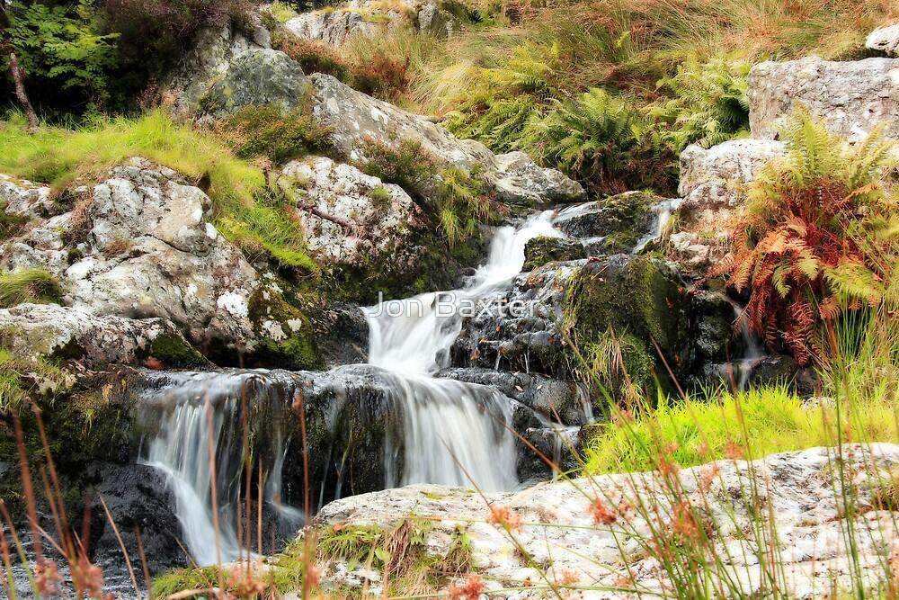 little waterfalls  by Jon Baxter