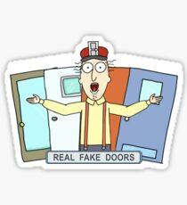 Real Fake Doors Sticker