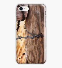 Barbed Wire.  iPhone Case/Skin