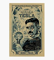 That's crazy and really unbelieveable design of tesla. Photographic Print