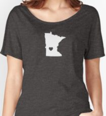 Minnesota Heart Women's Relaxed Fit T-Shirt
