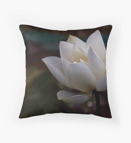 The White Beauty Throw Pillow